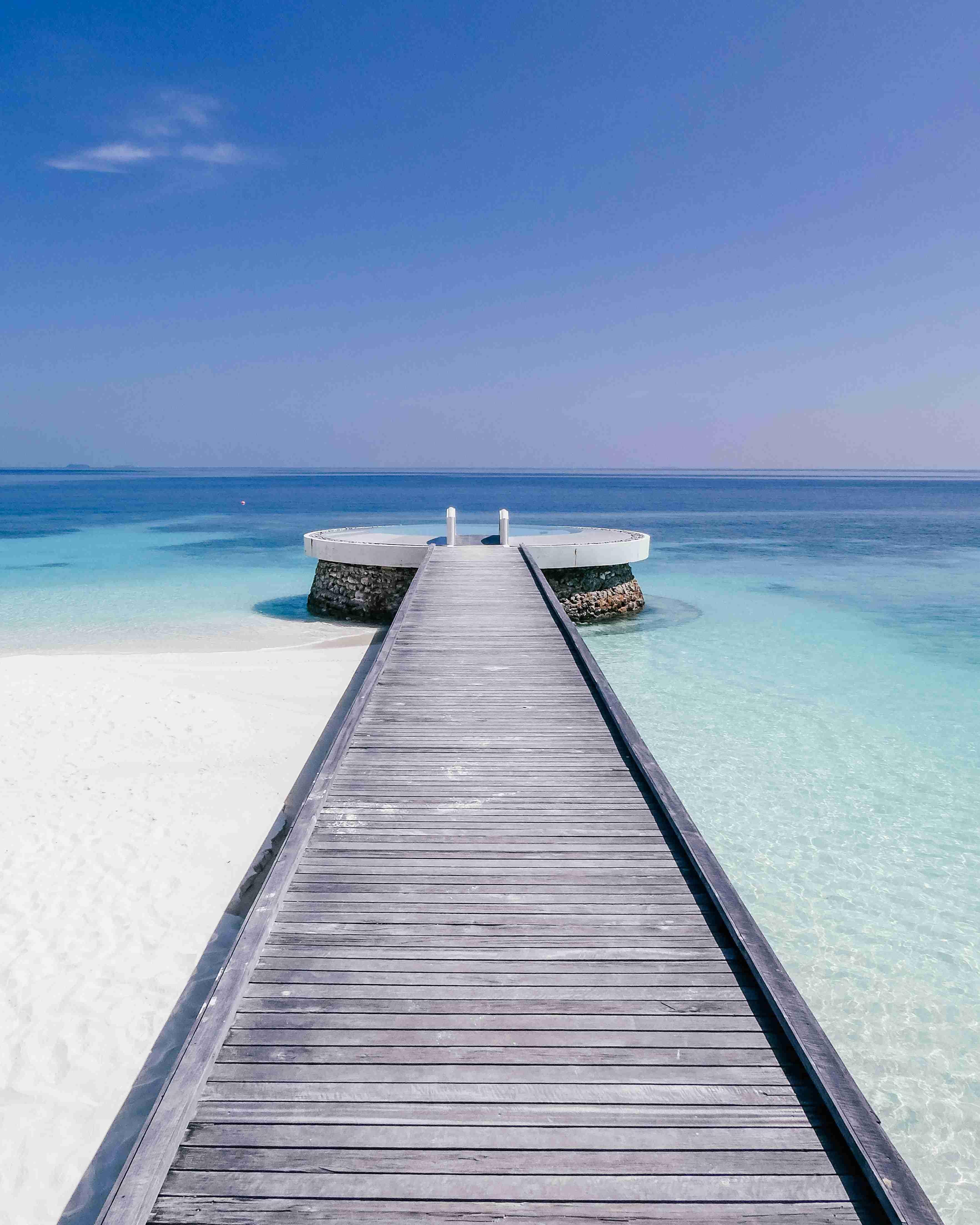 maldives vacation salt water pool
