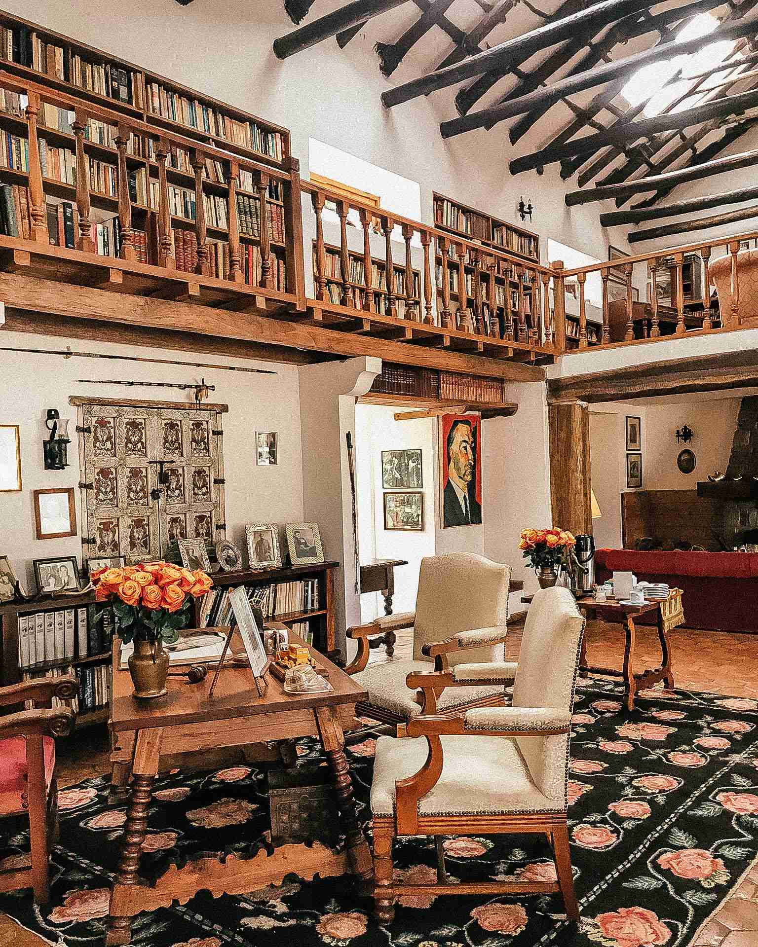 Presidential Library at Hacienda Zuleta