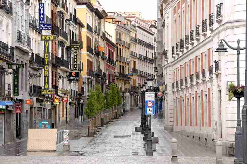 A street in Madrid, Spain